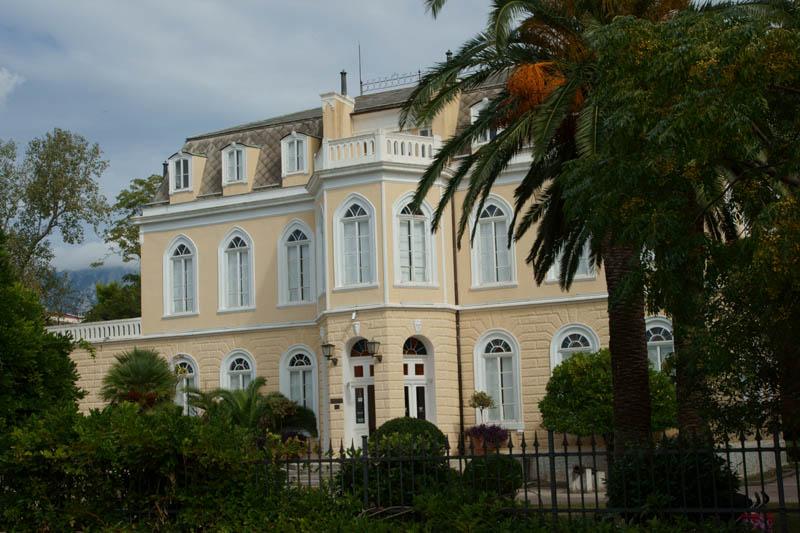 Czarnogóra - Bar, Pałac króla Mikołaja