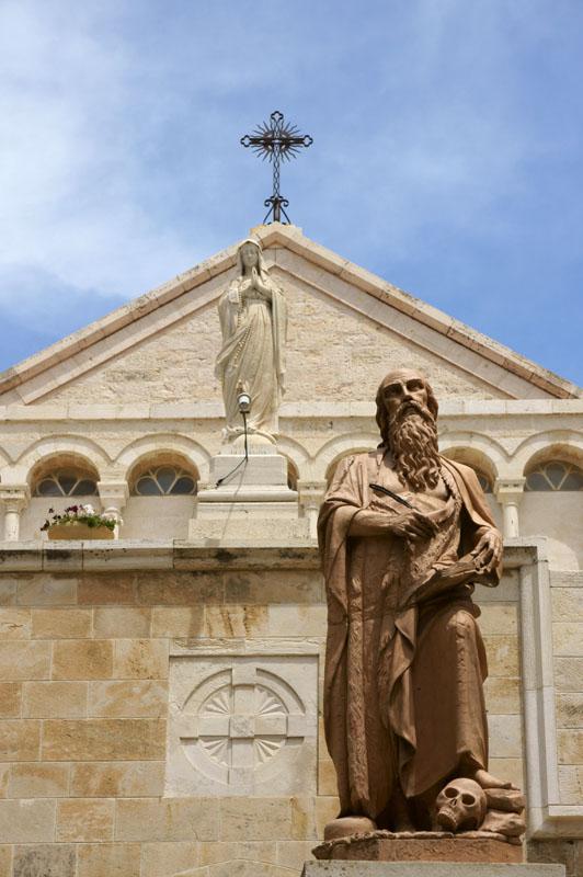 Autonomia Palestyńska - Betlejem, kościół św. Katarzyny