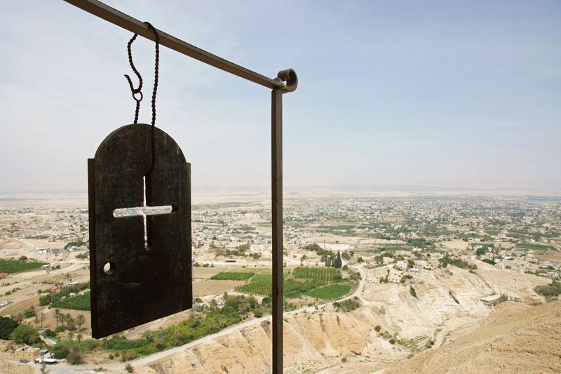 Autonomia Palestyńska - Jerycho, widok z Góry Kuszenia