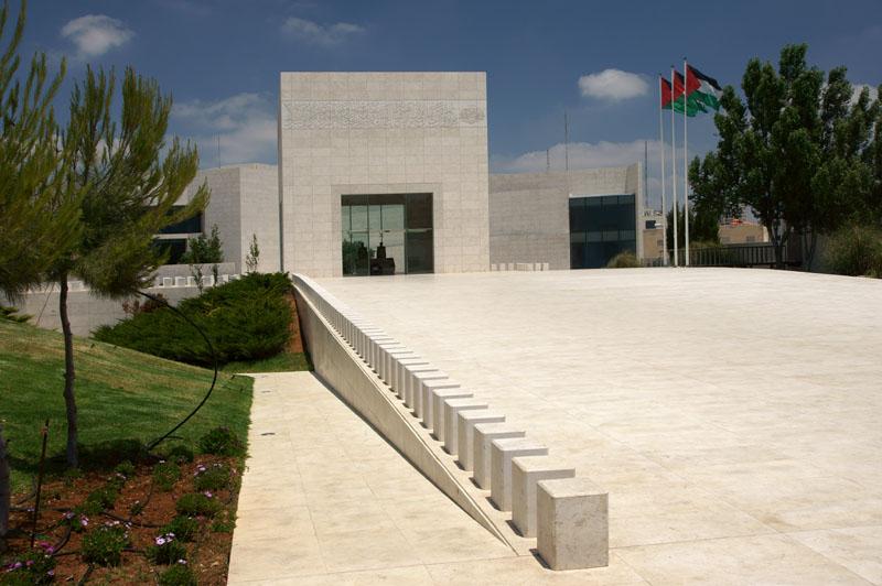 Autonomia Palestyńska - Ramallah, mauzoleum Jasera Arafata