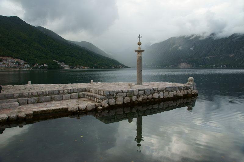 Czarnogóra - Perast, wyspa Matki Boskiej na Skale