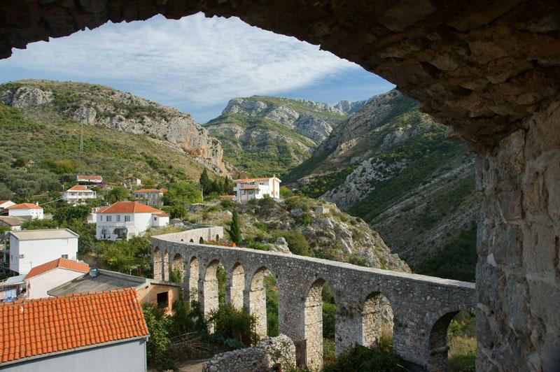 Czarnogóra - Stary Bar