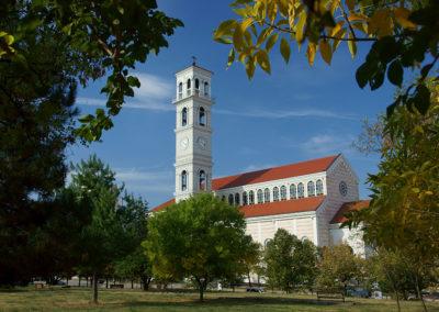 Kosowo - Prisztina, katedra św. Matki Teresy z Kalkuty