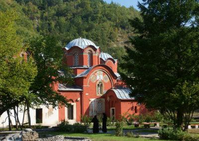 Kosowo - Pec (Peje), monaster