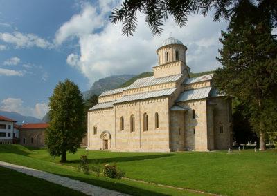 Kosowo - Monaster Visoki Dečani