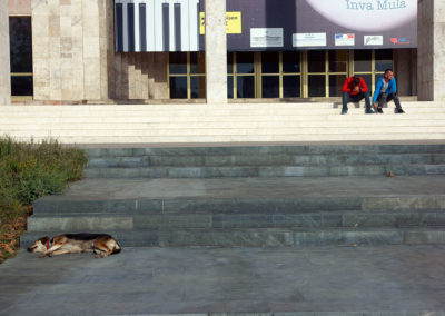 Albania - Tirana, przed operą