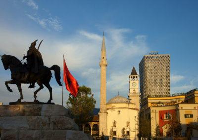 Albania - Tirana, Plac Skanderbega