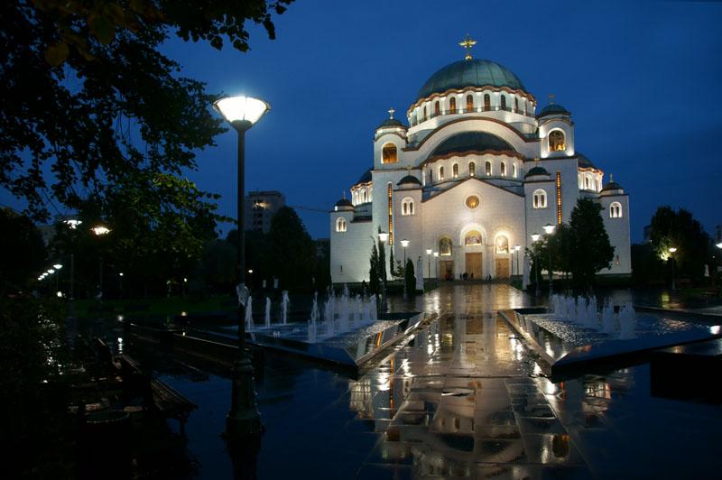 Serbia - Belgrad, cerkiew św. Sawy