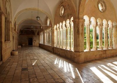 Dubrownik - klasztor Franciszkanów