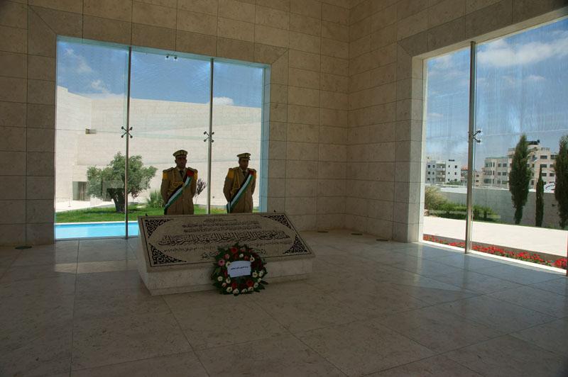 Autonomia Palestyńska - Ramallah mauzoleum Jasera Arafata