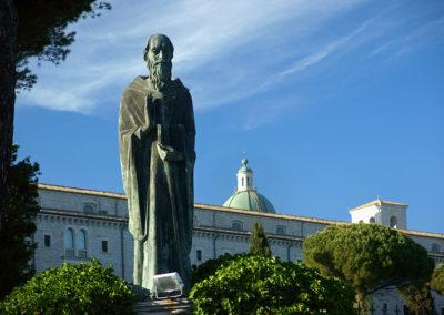 Monte Cassino - św. Benedykt