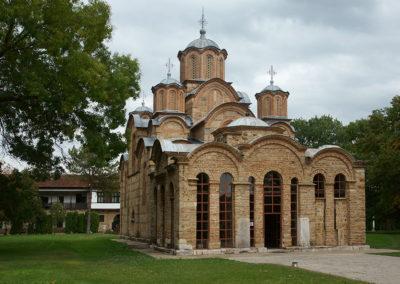 Kosowo - Gracanica, monaster