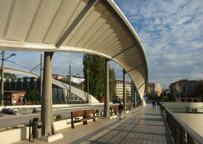 Kosowo - Mitrowica, most na rzece Ibar