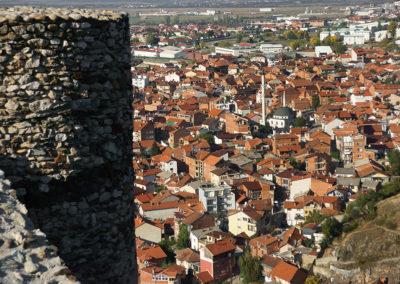 Kosowo - Prizren, widok z zamku