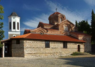 Macedonia - Ochryda, Cerkiew św. Bogurodzicy Perivlepty