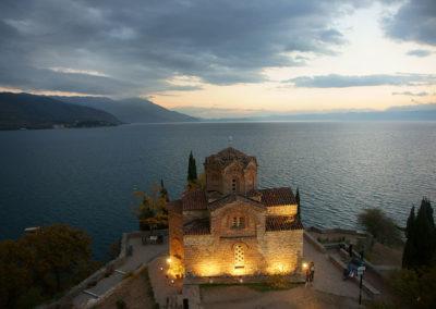 Macedonia - Ochryda, Cerkiew św. Jana Teologa w Kaneo