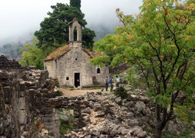 Kotor - kaplica św. Iwana
