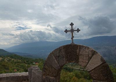W drodze do klasztoru Ostrog